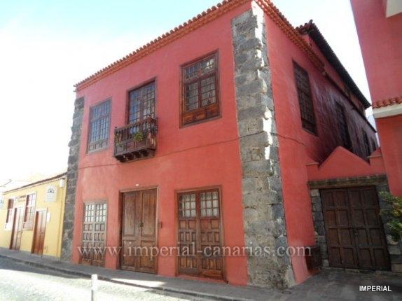 Eindruckvolles schönes altes Kanarisches Haus im Herzen der Altstadt von Garachico.