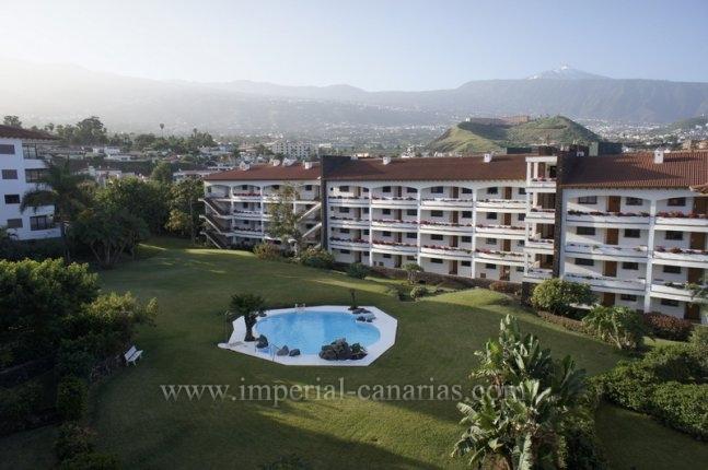 Appartement in El Tope  -  Hübsche Gartenwohnung in gut geführter Anlage mit Pool in bester Wohngegend.
