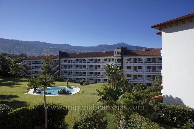 Appartement in El Tope  -  Sch�ne Wohnung in der besten Gegend und Blick auf den Teide