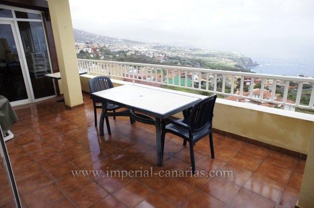 Tolles Penthouse mit grosser Terrasse und Panoramablick in La Matanza.  klicken zum vergrössern