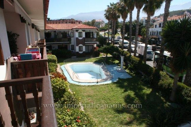 Appartement in Puerto de la Cruz  -  Sehr grosszügiges Apartment in kleiner Anlage mit Pool und Garten