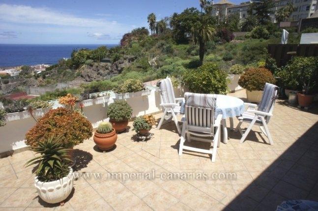 Wohnung in Puerto de la Cruz  -  Unglaubliche Penthouse Wohnung mit wunderbarem und unverbesserlichem Meer und Stadtpanorama