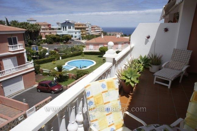 Penthaus in La Paz  -  Tolle Penthousewohnung mit 2 Terrassen und schönem Blick in La Paz.