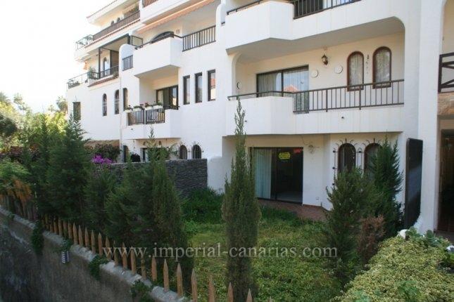 Wohnung in Puerto de la Cruz  -  Sehr sch�ne Wohnung mit Garten im Taoro Park.