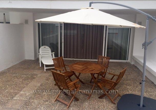 Appartement in La Paz  -  Schönes und sonniges Appartmente in beliebtem Gebäude mit tropischen Gärten und großen, beheizten Pool