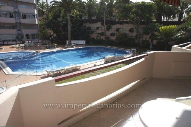 Schöne und sonnige Studio mit beheiztem Pool in La Paz