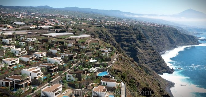 Project of luxory villas at sea site in Tacoronte!